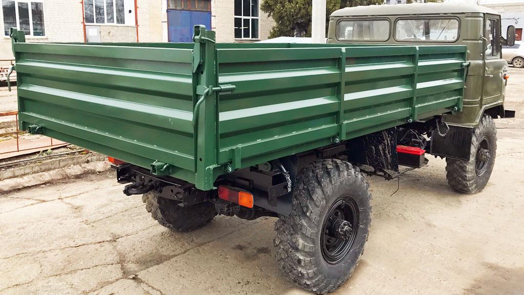Самосвальный кузов ГАЗ-3309 (с 3-х сторонней разгрузкой)